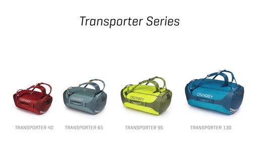 Osprey Transporter Duffel Collection - image 4 from the video