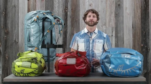 Osprey Transporter Duffel Collection - image 9 from the video