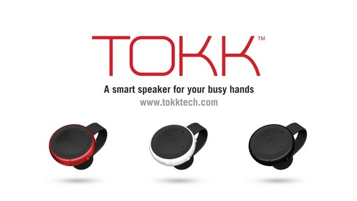 TOKK Wireless Smart Wearable SpeakerPhone - on eBags.com - image 10 from the video