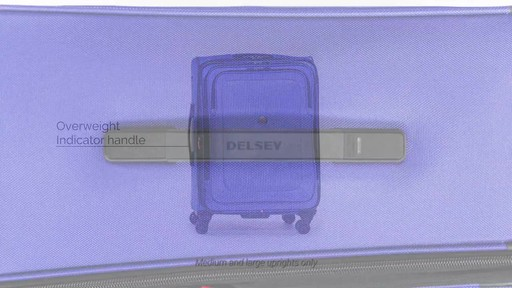 Delsey Cruise Lite Softside Collection - image 7 from the video
