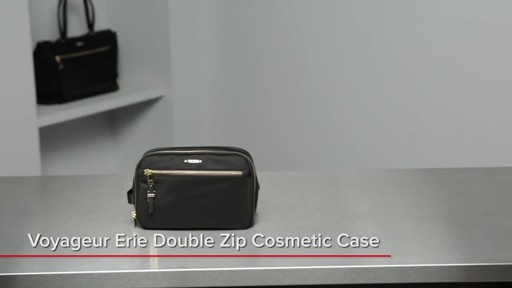 Tumi Voyageur Erie Double Zip Cosmetic - image 1 from the video