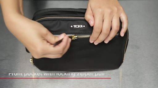 Tumi Voyageur Erie Double Zip Cosmetic - image 3 from the video