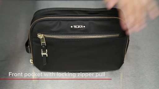 Tumi Voyageur Erie Double Zip Cosmetic - image 4 from the video