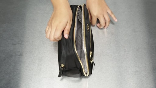 Tumi Voyageur Erie Double Zip Cosmetic - image 5 from the video