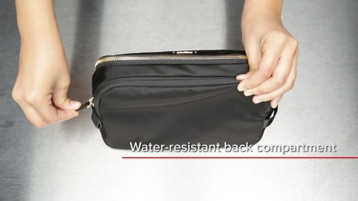 Tumi Voyageur Erie Double Zip Cosmetic - image 8 from the video