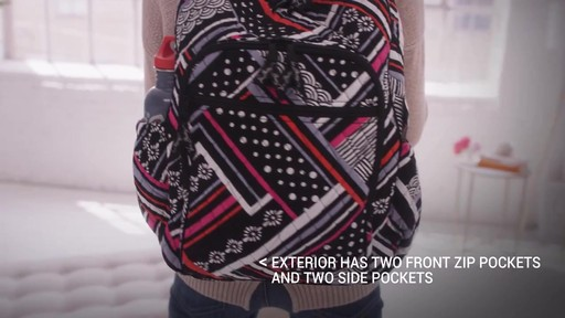 Vera Bradley Campus Tech Backpack - image 2 from the video