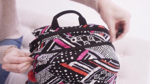 Vera Bradley Campus Tech Backpack - image 6 from the video