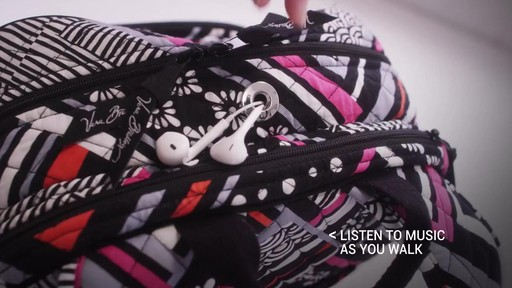 Vera Bradley Campus Tech Backpack - image 7 from the video