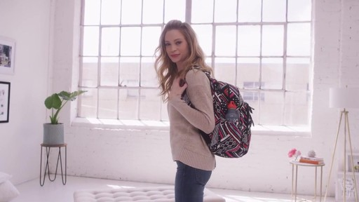 Vera Bradley Campus Tech Backpack - image 8 from the video