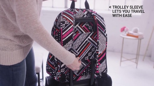 Vera Bradley Campus Tech Backpack - image 9 from the video