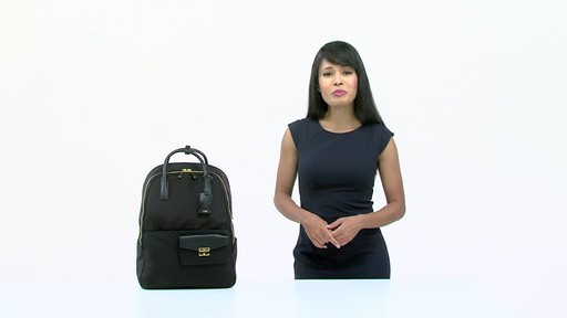Tumi Larkin Portola Convertible Backpack - image 10 from the video