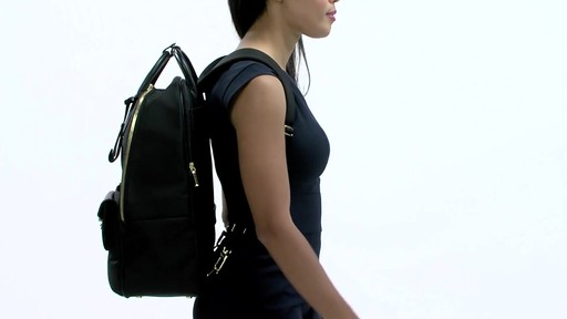 Tumi Larkin Portola Convertible Backpack - image 3 from the video