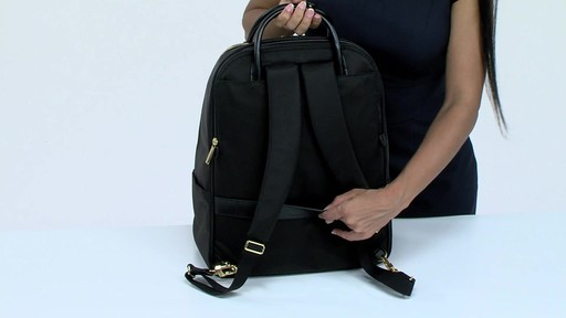 Tumi Larkin Portola Convertible Backpack - image 4 from the video