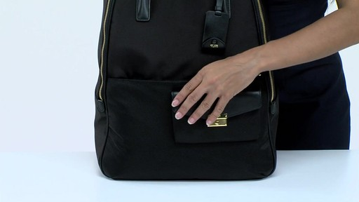Tumi Larkin Portola Convertible Backpack - image 5 from the video
