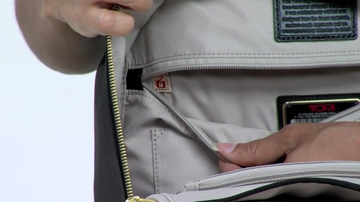 Tumi Larkin Portola Convertible Backpack - image 7 from the video