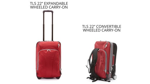 eBags TLS 22 Wheeled Carry-On - image 8 from the video