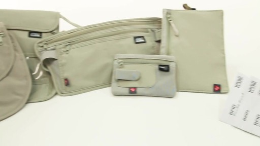 Lewis N. Clark RFID Blocking Leather Tri-Fold Wallet - image 7 from the video