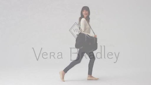 Vera Bradley Midtown Travel Bag - image 10 from the video