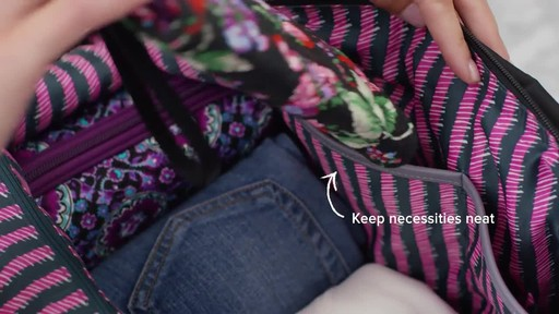 Vera Bradley Midtown Travel Bag - image 3 from the video