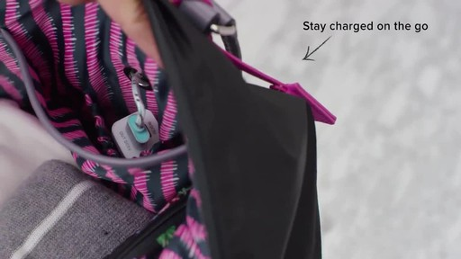 Vera Bradley Midtown Travel Bag - image 5 from the video