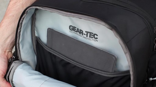 Granite Gear Cross- Trek Convertible Wheeled Carry-On with Removable 28L Pack - image 4 from the video
