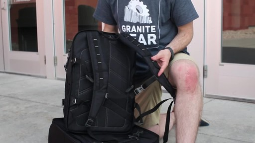 Granite Gear Cross- Trek Convertible Wheeled Carry-On with Removable 28L Pack - image 7 from the video
