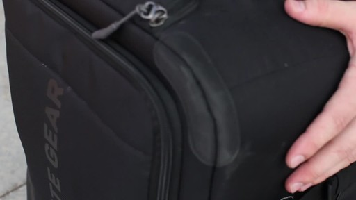 Granite Gear Cross- Trek Convertible Wheeled Carry-On with Removable 28L Pack - image 8 from the video