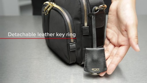 Tumi Voyageur Troy Crossbody - image 7 from the video