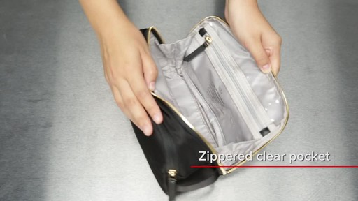 Tumi Voyageur Erie Double Zip Cosmetic - image 7 from the video