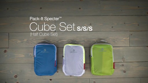 Eagle Creek Pack-It Specter™ Half Cube Set - image 10 from the video