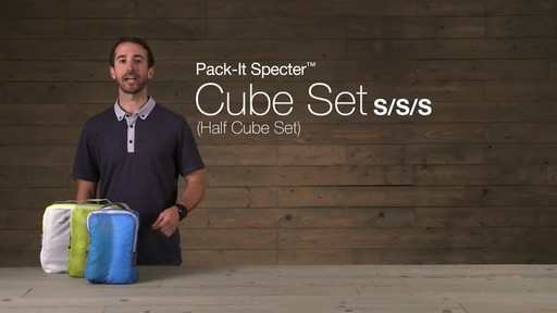 Eagle Creek Pack-It Specter™ Half Cube Set - image 2 from the video