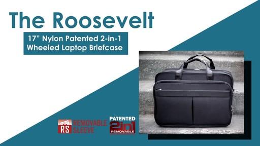 McKlein USA Roosevelt Nylon Detachable Wheeled 17