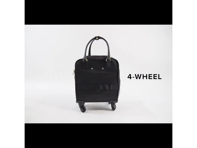 Aimee Kestenberg Florence Collection 4-Wheel Underseat Carry-On - image 2 from the video