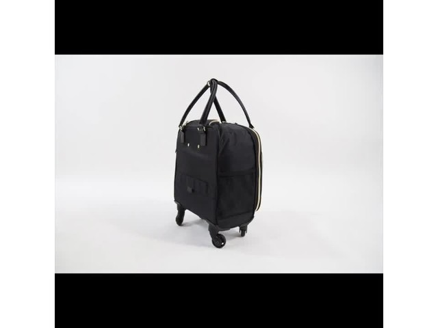 Aimee Kestenberg Florence Collection 4-Wheel Underseat Carry-On - image 3 from the video