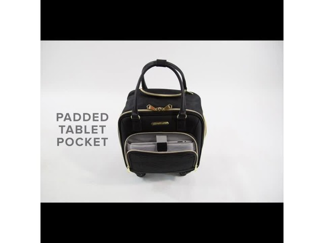 Aimee Kestenberg Florence Collection 4-Wheel Underseat Carry-On - image 4 from the video