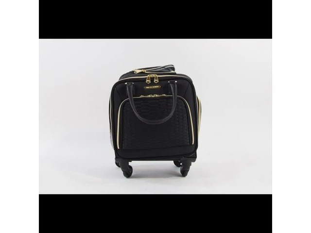 Aimee Kestenberg Florence Collection 4-Wheel Underseat Carry-On - image 7 from the video