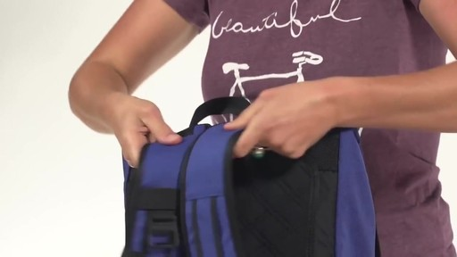 Timbuk2 Madrone Cycling Laptop Backpack - eBags.com - image 8 from the video