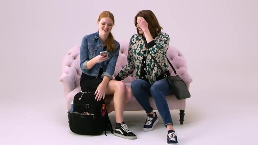 Vera Bradley Iconic Deluxe Campus Backpack - image 1 from the video