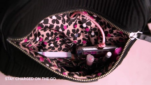 Vera Bradley Iconic Deluxe Campus Backpack - image 5 from the video