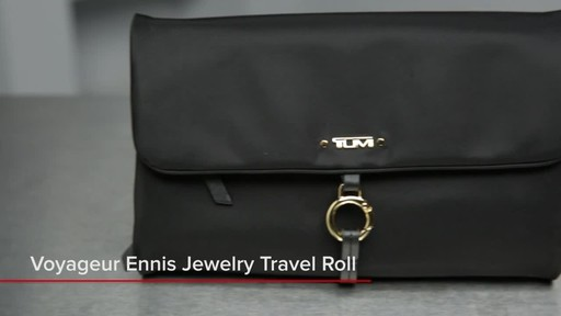 Tumi Voyageur Ennis Jewelry Travel Roll - image 1 from the video
