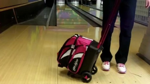 KR Strikeforce Bowling Cruiser Single Bowling Ball Roller Bag - eBags.com - image 3 from the video