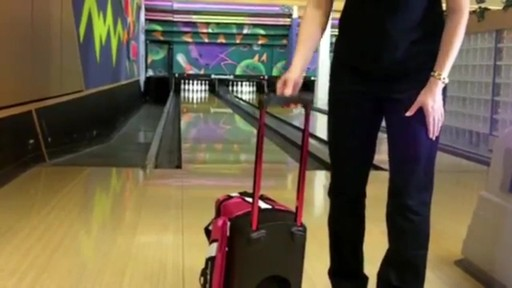 KR Strikeforce Bowling Cruiser Single Bowling Ball Roller Bag - eBags.com - image 4 from the video