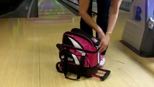 KR Strikeforce Bowling Cruiser Single Bowling Ball Roller Bag - eBags.com - image 7 from the video