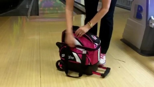 KR Strikeforce Bowling Cruiser Single Bowling Ball Roller Bag - eBags.com - image 9 from the video