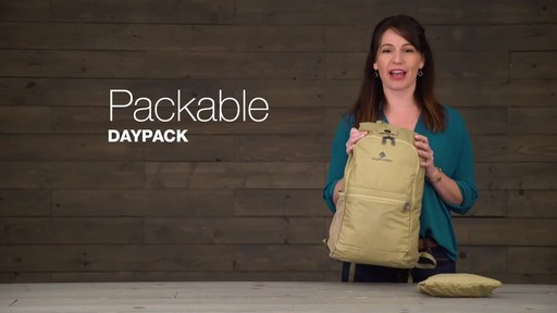 Eagle Creek Packable Daypack - image 1 from the video