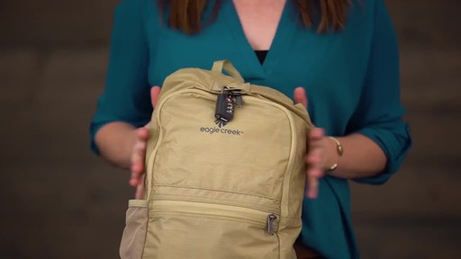 Eagle Creek Packable Daypack - image 8 from the video