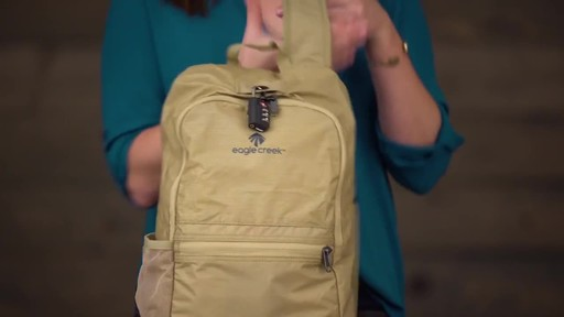 Eagle Creek Packable Daypack - image 9 from the video
