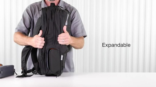 Lowepro Urbex BP 28L Plus Laptop Backpack - image 8 from the video