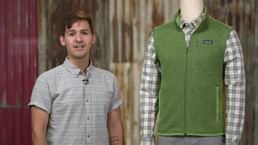 Patagonia Mens Better Sweater Vest - image 1 from the video