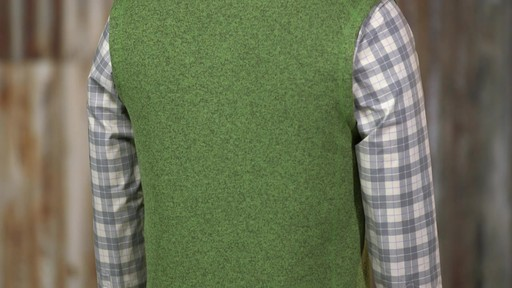 Patagonia Mens Better Sweater Vest - image 3 from the video